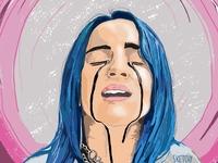 Billie Ellish Fan Art