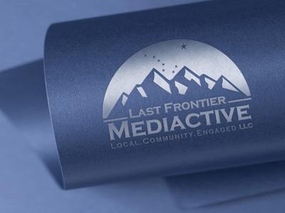 Last Frontier Mediactive Logo Design