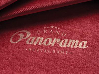 Logo Design for Grand Panorama Restaurant - France