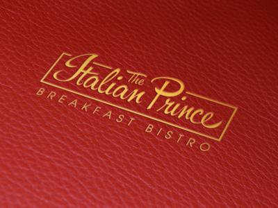 The Italian Prince Logo Design