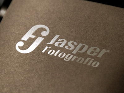 Logo For a Belgian Photographer logo mockup graphic designer logo design branding showcase realistic photorealistic mock-up identity graphicriver logo foil