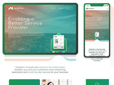 Responsive Product Website unsplash web design website web responsive layout product page product brand