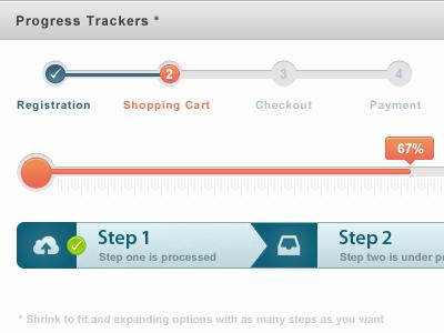 progress tracker designs on dribbble