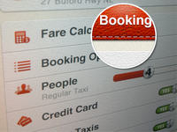 iPhone - Booking Overview