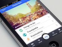Travel App: iPhone