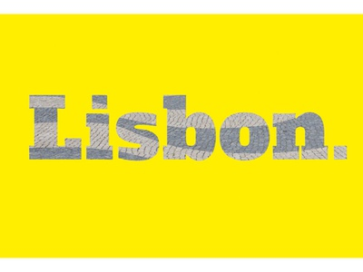 Lisbon motion graphic