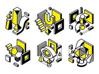 Artup Bureau Blog Illustrations