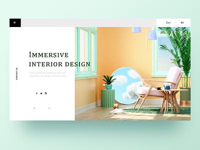 c4d express web illustration 2020 design ui web c4d