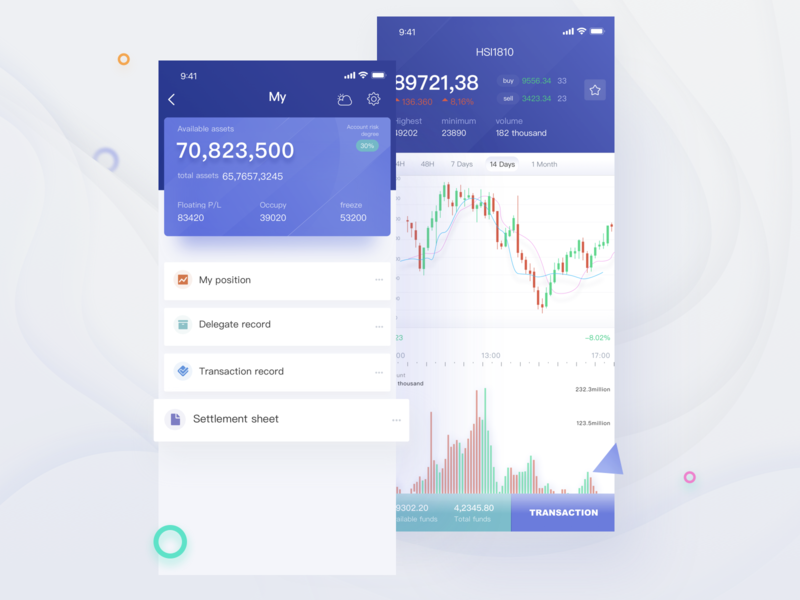 App Design for exchanges exchanges app ui design