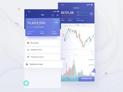 App Design for exchanges exchanges app ui design