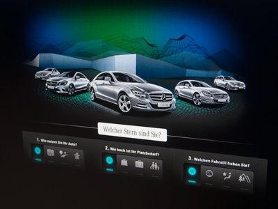 Mercedes Benz (Germany) blazon ui design you tube channel pixelpark ag