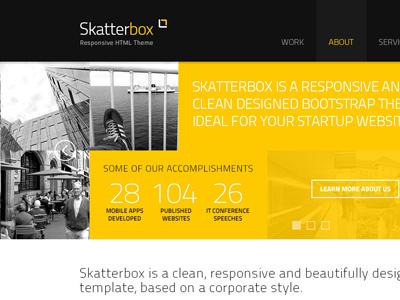 Skatterbox skatterbox themelize.me interface design
