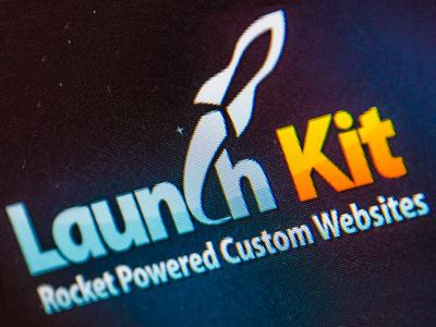 Launchkit logo webdesign product