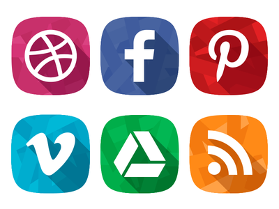 Social Network Icons blazon icons social netweork