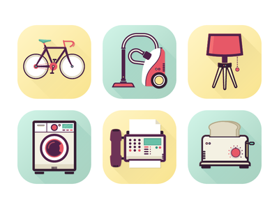 Internet of Things - IoT icons