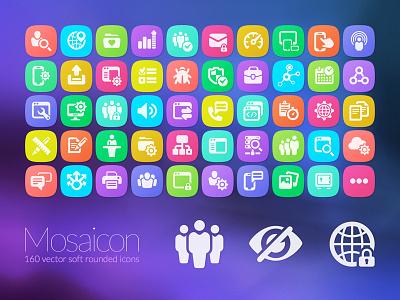 Mosaicon  Iconset vector ui icon