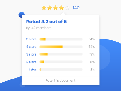 Star Rating tooltips ratings stars
