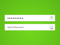 Toggle password