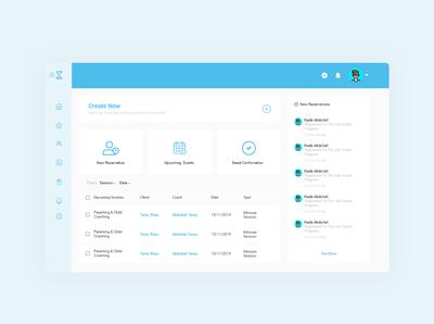 Kon Project - Dashboard website minimal web ux ui design dashboard app dashboard design dashboard ui dashboad