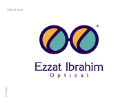 Ezzat Ibrahim Optical - Logo Design
