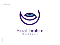 Ezzat Ibrahim Optical - Logo Design   2