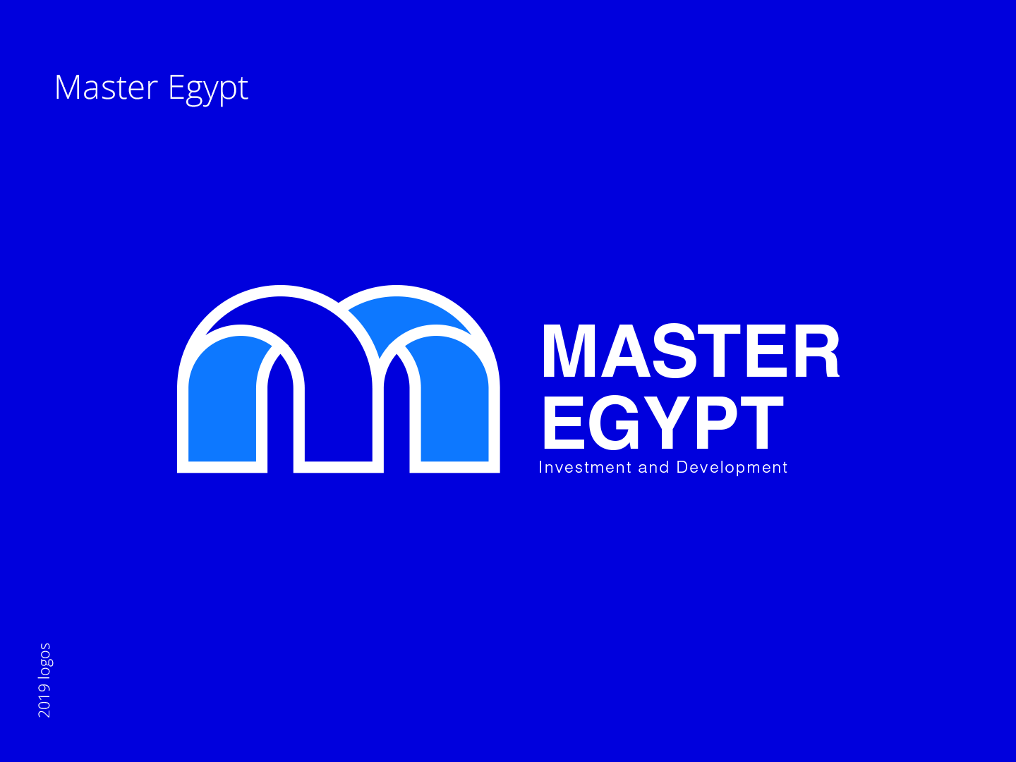 Master Egypt - branding egypt master egypt logo a day blue and white blue blue bird design type typography flat vector icon branding logo real estate branding real estate agency real estate