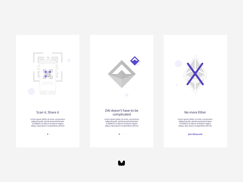 metacash mobile app UI ui design illustration app ux