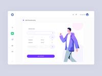 Add Membership page - Dashboard UI