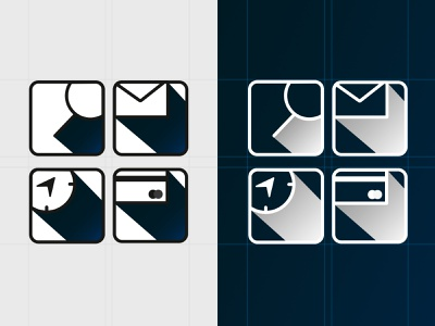 Simple icons icons pack icon shadow adobe illustrator vector design black and white blue hobby icon design icons vector illustration design graphic design