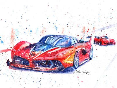 Ferrari Racing Days Sochi car sportscar drive power speed automobile auto abstract race ferrary