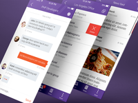 Internal Messaging App