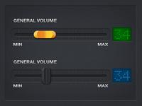 General Volume Slider