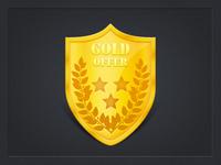 Gold Offer Badge