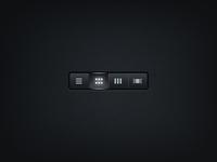Radio button (free psd)