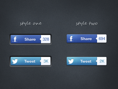 Social Share Buttons social share button share button twitter facebook tweet counter dark texture psd free freebie download