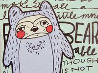 un-BEAR-able puns book