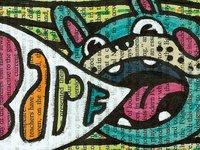 barf dog, from Tempest sketchbook