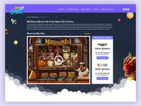 Jeux Casino Game Page