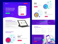 Snagshout Web Page UI-UX Design