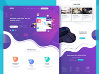Ui-Ux design for Online digital marketing company