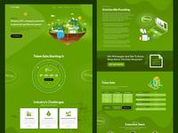 Eden GeoPower ICO UI-UX Design