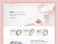 Jewelry eCommerce website Design