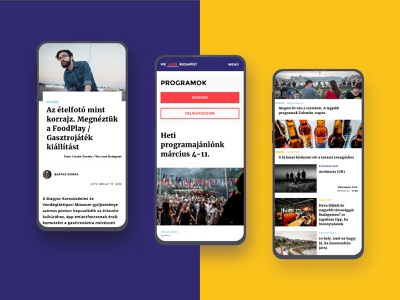 WeLove Publishing website redesign - Mobile screens mobile ui news site redesign online magazine interaction design interaction responsive design webdesign website redesign ux ui ux design ui design