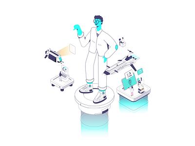 User-centered illustration use illustration axonometric illustration user-centered future illustration isometric animation axonometric vector isometric illustration isometric animation illustration