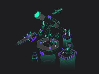 Recruitment illustration dark mode recruitment illustration recruitment axonometric vector animation illustration isometric isometric illustration