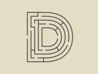Typehue D letter typography design challenge type typehue