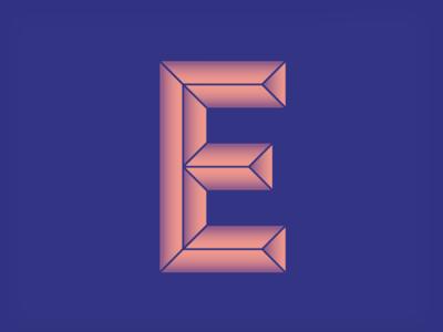 #Typehue Week 5: E letter design challenge tyopgraphy type typehue