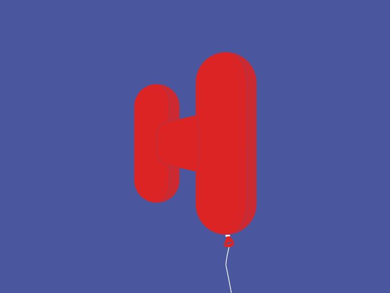 Typehue Week 7: H letter design challenge tyopgraphy type typehue