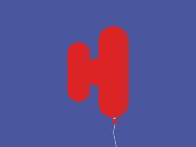 H by Tom Johnson via dribbble