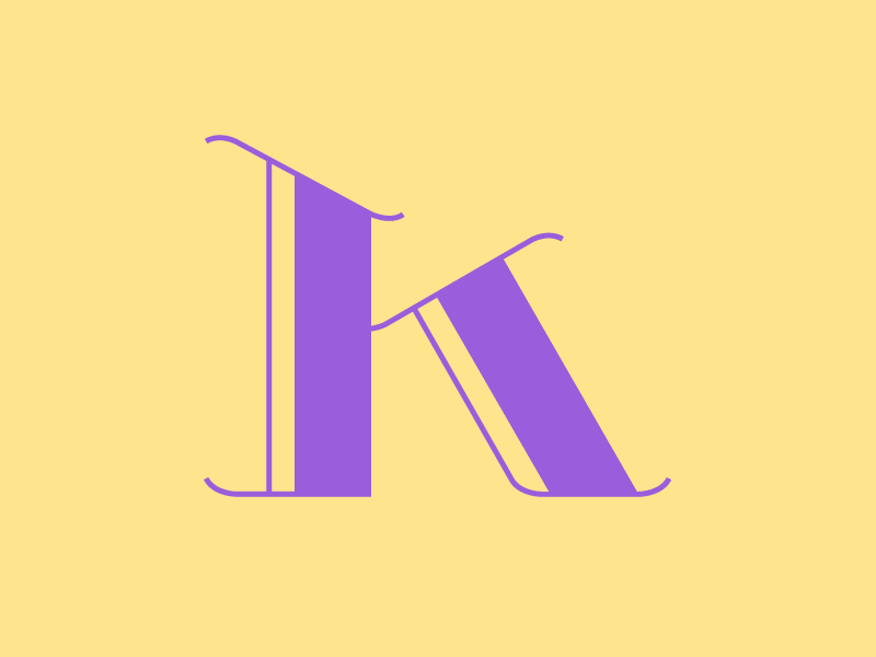 #Typehue Week 11: K typography typehue type lighthouse letter design creative colour challenge